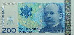 200 Kroner NORVÈGE  2013 P.50 NEUF