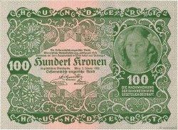 100 Kronen AUTRICHE  1922 P.077 NEUF