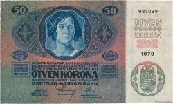 50 Kronen AUTRICHE  1914 P.015 SPL