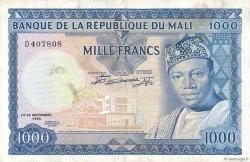 1000 Francs MALI  1960 P.09 TTB+