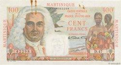 100 Francs La Bourdonnais MARTINIQUE  1946 P.31a SUP+