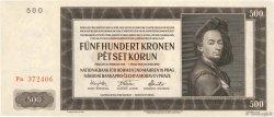 500 Korun BOHÊME ET MORAVIE  1942 P.12a NEUF