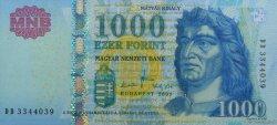 1000 Forint HONGRIE  2009 P.197a NEUF