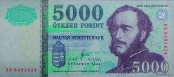 5000 Forint HONGRIE  2008 P.199a NEUF