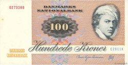 100 Kroner DANEMARK  1991 P.051v SUP
