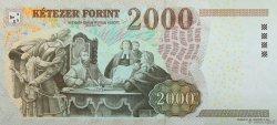 2000 Forint HONGRIE  2007 P.198a pr.NEUF