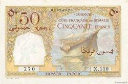 50 Francs DJIBOUTI  1952 P.25 pr.NEUF
