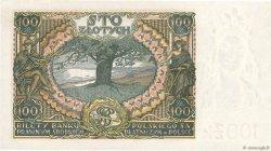 100 Zlotych POLOGNE  1934 P.075a pr.NEUF