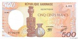 500 Francs GABON  1985 P.08 NEUF