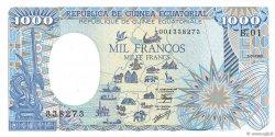 1000 Francs type 1984 GUINÉE ÉQUATORIALE  1985 P.21 NEUF