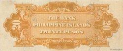 20 Pesos PHILIPPINES  1912 P.009b pr.SUP