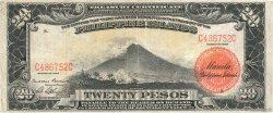 20 Pesos PHILIPPINES  1929 P.077 pr.TTB