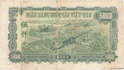 5000 Dong VIET NAM  1953 P.066a TB