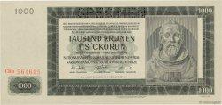 1000 Korun BOHÊME ET MORAVIE  1942 P.14s NEUF