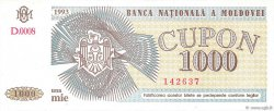 1000 Cupon MOLDAVIE  1993 P.03 NEUF