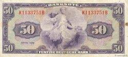 50 Deutsche Mark ALLEMAGNE FÉDÉRALE  1948 P.07a TTB