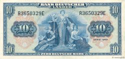 10 Deutsche Mark  GERMAN FEDERAL REPUBLIC  1949 P.16a