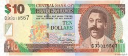 10 Dollars BARBADOS  2007 P.68 aUNC