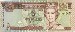 5 Dollars FIDJI  2002 P.105b NEUF