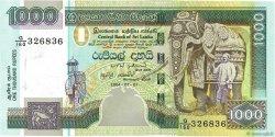 1000 Rupees SRI LANKA  2004 P.120b FDC