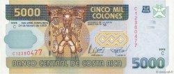 5000 Colones COSTA RICA  1999 P.268A pr.NEUF