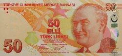 50 Lira TURQUIE  2009 P.225 NEUF