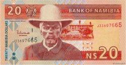 20 Namibia Dollars NAMIBIA  2002 P.06a UNC