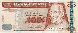 100 Quetzales GUATEMALA  2007 P.114b UNC