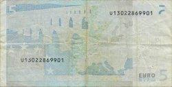 5 Euro EUROPE  2002 €.100.09 TB