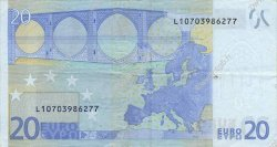20 Euros FINLANDE  2002 €.120.01 TTB