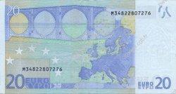 20 Euro EUROPE  2002 €.120.21 pr.SUP