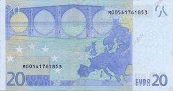 20 Euro EUROPE  2002 €.120.03 TTB