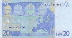 20 Euro EUROPE  2002 €.120.03 pr.SPL