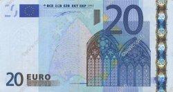 20 Euro EUROPE  2002 €.120.03 pr.SUP