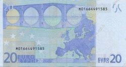 20 Euro EUROPE  2002 €.120.03 SUP