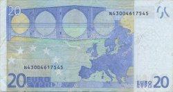 20 Euros AUTRICHE  2002 €.120.04 TTB