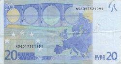 20 Euro EUROPE  2002 €.120.04 TTB