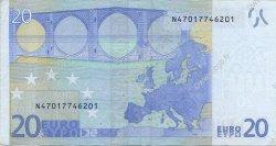 20 Euros AUTRICHE  2002 €.120.04 TTB+