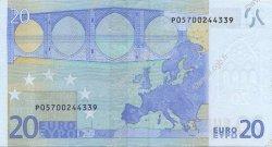 20 Euro EUROPE  2002 €.120.05 SUP