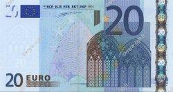 20 Euros ITALIE  2002 €.120.07 NEUF