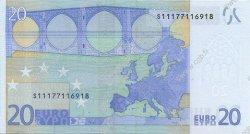 20 Euro EUROPE  2002 €.120.20 pr.NEUF