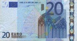 20 Euros IRLANDE  2002 €.120.09 TB+