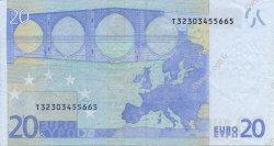 20 Euros IRLANDE  2002 €.120.09 TTB