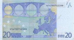 20 Euros ESPAGNE  2002 €.120.22 NEUF