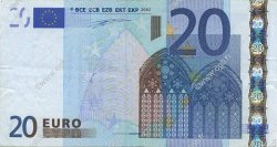 20 Euro EUROPE  2002 €.120.14 TTB