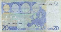 20 Euro EUROPE  2002 €.120.14 TB