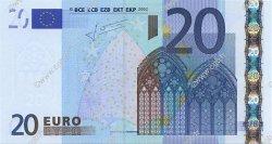 20 Euro EUROPE  2002 €.120.21 NEUF