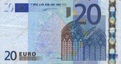 20 Euros FRANCE  2002 €.120.10 TB+