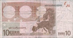 10 Euros ESPAGNE  2002 €.110.09
