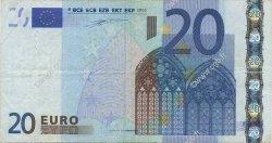 20 Euro EUROPE  2002 €.120.06 TB+